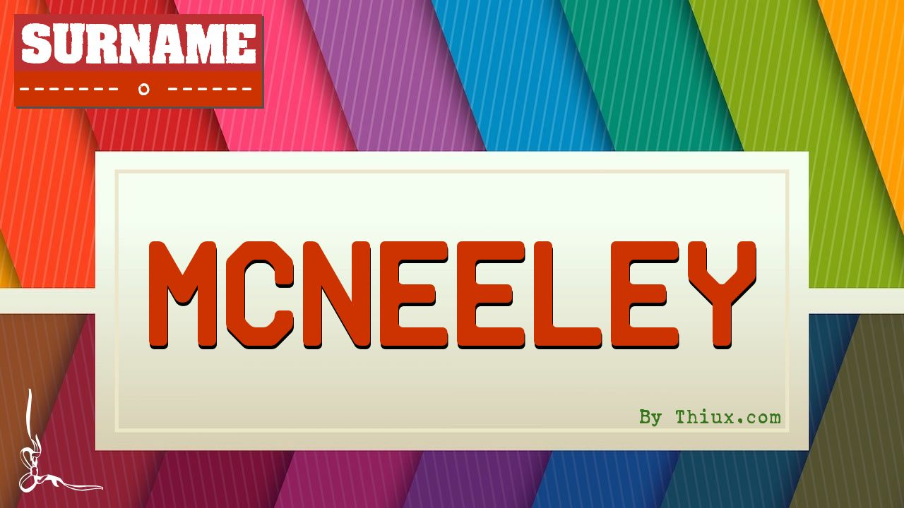 Mcneeley